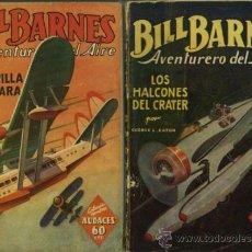 Tebeos: COLECCION HOMBRES AUDACES - BILL BARNES Nº1 Y 4 - LOTE DE 2 NUMEROS.. Lote 31165435