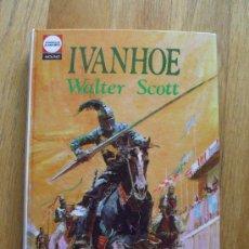 Tebeos: IVANHOE, WALTER SCOTT, EDITORIAL , COLECCION CLASICOS JUVENILES MOLINO, 24. Lote 31192446
