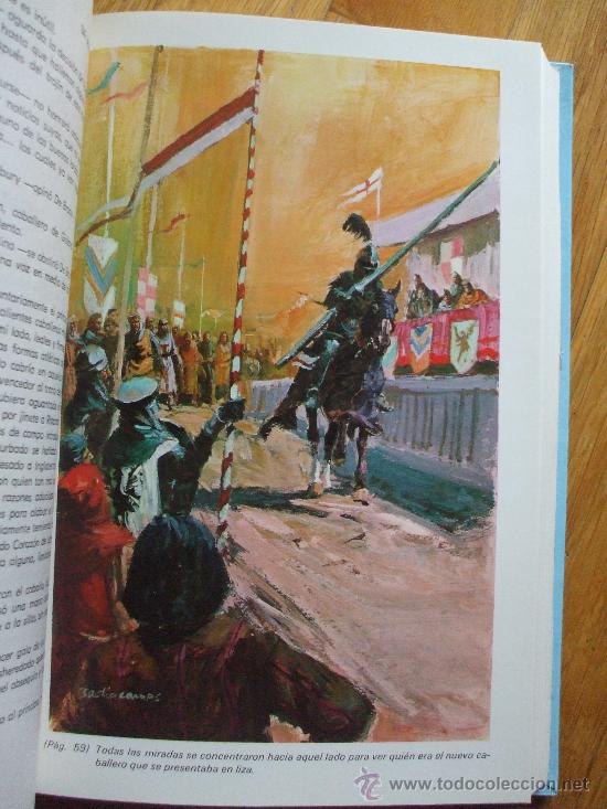 Tebeos: IVANHOE, walter scott, editorial , coleccion clasicos juveniles molino, 24 - Foto 3 - 31192446