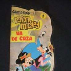 Tebeos: EL RATON MICKEY VA DE CAZA - WALT DISNEY - EDIT. MOLINO - 1966 - . Lote 31452908