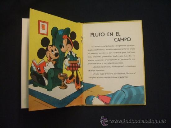 Tebeos: WALT DISNEY - PLUTO EN EL CAMPO - EDIT. MOLINO - 1954 - - Foto 5 - 31454630