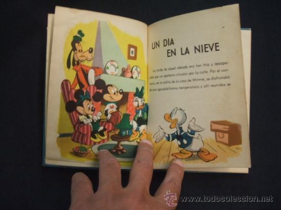 Tebeos: WALT DISNEY - UN DIA EN LA NIEVE - EDIT. MOLINO - 1954 - - Foto 5 - 31455077