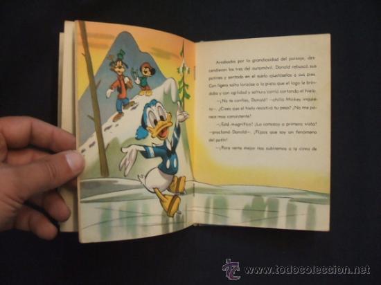 Tebeos: WALT DISNEY - UN DIA EN LA NIEVE - EDIT. MOLINO - 1954 - - Foto 6 - 31455077