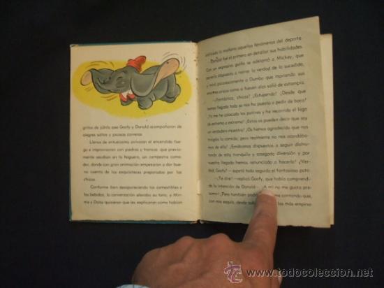 Tebeos: WALT DISNEY - UN DIA EN LA NIEVE - EDIT. MOLINO - 1954 - - Foto 7 - 31455077
