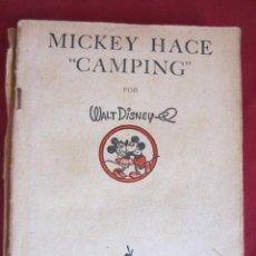 Tebeos: MICKEY HACE CAMPING - PRIMERA EDICION - 1934. Lote 32032242