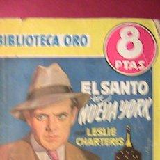 Tebeos: BIBLIOTECA ORO. EL SANTO EN NUEVA YORK. NUM 243.. Lote 33946879