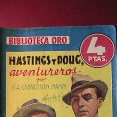Tebeos: BIBLIOTECA ORO. HASTINGS Y DOUG AVENTUREROS. NUM 208.. Lote 33946882