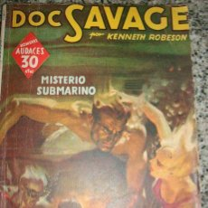 Tebeos: DOC SAVAGE, EN MISTERIO SUBMARINO, POR KENNETH ROBESON - Nº 138 - MOLINO - 1941. Lote 33025591