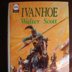 Tebeos: IVANHOE - WALTER SCOTT - CLÁSICOS JUVENILES - CON LÁMINAS DE BADÍA CAMPS - MOLINO 1975. Lote 33208052