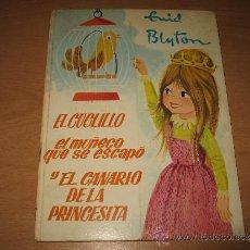 Tebeos: CUENTO DE LAS BUENAS NOCHES EL CUCLILLO DE ENYD BLYTON ILUSTRADO POR STEWART .ED MOLINO AÑO 1967. Lote 33260370