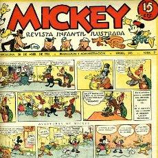 Livros de Banda Desenhada: MICKEY , Nº 7B , MOLINO , 4 HOJAS , ORIGINAL, J. Lote 35106703