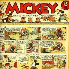Livros de Banda Desenhada: MICKEY , Nº 10 , MOLINO , 4 HOJAS , ORIGINAL, J. Lote 35106758