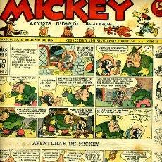 Tebeos: MICKEY , Nº 15B , MOLINO , 4 HOJAS , ORIGINAL, J. Lote 35106945