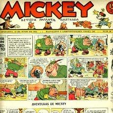 Livros de Banda Desenhada: MICKEY , Nº 16 , MOLINO , 4 HOJAS , ORIGINAL, J. Lote 35107060