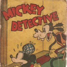 Tebeos: COMIC MICKEY MOUSE DECTECTIVE EDITORIAL MOLINO. Lote 35390041