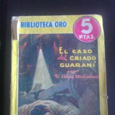 Tebeos: BIBLIOTECA ORO. EDITORIAL MOLINO. ED. AMARILLA. NUM 149. EL CRIADO GUARANI. Lote 37099768