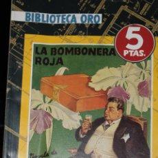Tebeos: BIBLIOTECA ORO 10 LA BOMBONERA ROJA EDITORIAL MOLINO. Lote 39441728