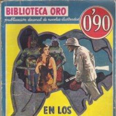 Tebeos: 1 NOVELA AÑO 1934 - BIBLIOTECA ORO - Nº I - 7 - EN LOS DOMINIOS DE LAS FIERAS ( STEWART EDWARD WHITE. Lote 39772036