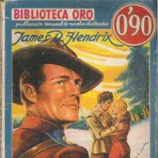 Tebeos: 1 NOVELA AÑO 1936 - BIBLIOTECA ORO - Nº I - 3 - DOWMEY DE LA POLICIA MONTADA ( JAMES B. HENDRIX. Lote 39772075