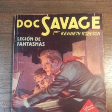 Tebeos: DOC SAVAGE. LEGION DE FANTASMAS. Nº104. KENNETH ROBERTSON. . Lote 41849322