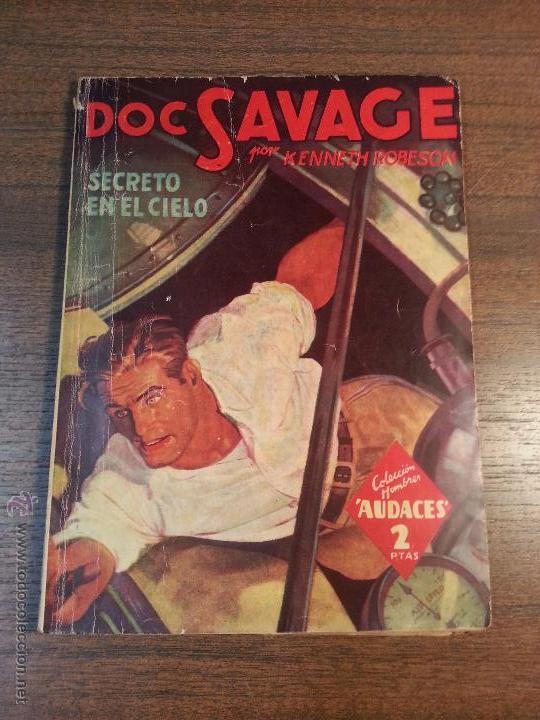 DOC SAVAGE. SECRETO EN EL CIELO. Nº108. KENNETH ROBERTSON. (Tebeos y Comics - Molino)