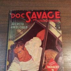 Tebeos: DOC SAVAGE. SECRETO EN EL CIELO. Nº108. KENNETH ROBERTSON. . Lote 41849484