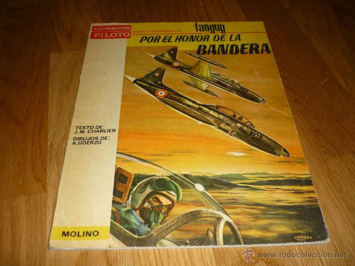 POR EL HONOR DE LA BANDERA MICHEL TANGUY UNDERZO MOLINO AÑO 1966 PILOTO (Tebeos y Comics - Molino)
