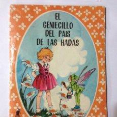 Tebeos: EL GENIECILLO DEL PAIS DE LAS HADAS - COLECCION MARUJITA N.1 - EDITORIAL MOLINO 1964. Lote 42804098