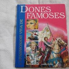 Tebeos: L'APASSIONANT VIDA DE DONES FAMOSES - MOLINO - 1999. Lote 43250542