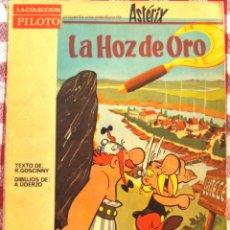 Tebeos: ASTERIX LA HOZ DE ORO EDITORIAL MOLINO AÑO 1966 RARO RARISIMO. Lote 43453004