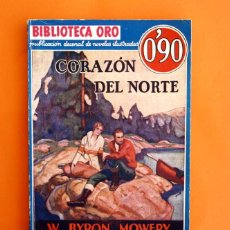 Tebeos: BIBLIOTECA ORO - Nº 1 - 8 - AÑO I - CORAZON DEL NORTE - EDITORIAL MOLINO 1934 -. Lote 45957604