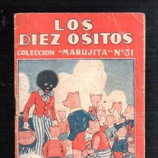 Tebeos: COLECCION MARUJITA Nº 31. LOS DIEZ OSITOS. EDITORIAL MOLINO. Lote 47529590