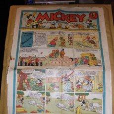 Tebeos: (M1) MICKEY 1935 NUM 30 , EDT MOLINO 1935 , ESTADO CON ROTURITAS. Lote 47611072