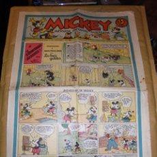 Tebeos: (M1) MICKEY 1935 NUM 32 , EDT MOLINO 1935 , ESTADO CON ROTURITAS. Lote 47611088