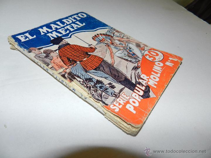Tebeos: NUMERO 1 , LOMO FATIGADO - Foto 3 - 48521158