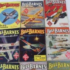 Giornalini: L-238. BILL BARNES. COLECCION HOMBRES AUDACES. 9 REVISTAS. ED MOLINO. AÑOS 1936-1947. Lote 49122483
