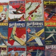 Giornalini: RV-151. BILL BARNES. AVENTURERO DEL AIRE. DOCE REVISTAS. EDIT MOLINO. 1941-42.. Lote 49125874