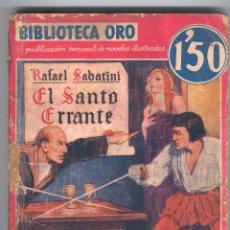 Tebeos: NOVELA BIBLIOTECA ORO. NºII-11. AÑO I. Lote 49444836