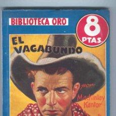 Tebeos: NOVELA BIBLIOTECA ORO. Nº233. EL VAGABUNDO. POR MACKINLAY.. Lote 49445589