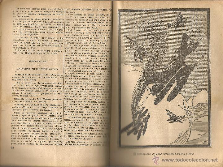 Tebeos: GEORGE L. EATON BILL BARNES AVENTURERO DEL AIRE EL FANTASMA DE LA NIEBLA MOLINO Nº 9 ARGENTINA 1938 - Foto 2 - 50082574