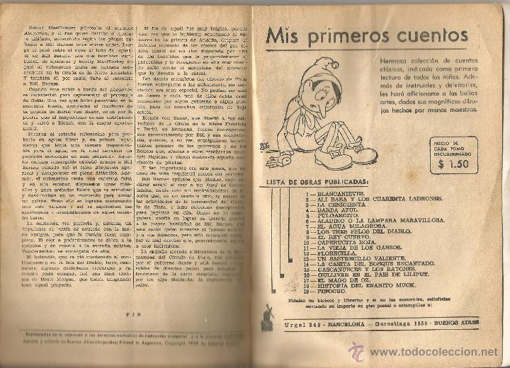 Tebeos: GEORGE L. EATON BILL BARNES AVENTURERO DEL AIRE EL FANTASMA DE LA NIEBLA MOLINO Nº 9 ARGENTINA 1938 - Foto 3 - 50082574