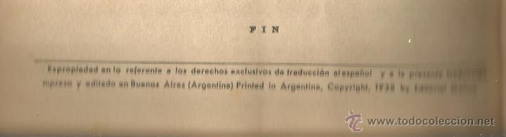 Tebeos: GEORGE L. EATON BILL BARNES AVENTURERO DEL AIRE EL FANTASMA DE LA NIEBLA MOLINO Nº 9 ARGENTINA 1938 - Foto 4 - 50082574
