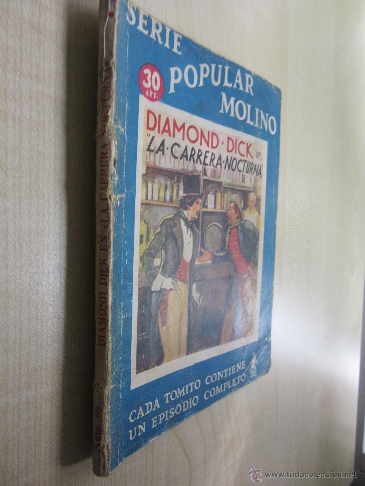 Tebeos: Diamond Dick en La carrera nocturna Serie Popular Molino 4 de enero 1936 - Foto 2 - 52284922