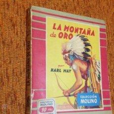 Tebeos: EDITORIAL MOLINO Nº2 - LA MONTAÑA DE ORO - KARL MAY - EXCELENTE - 1952. Lote 52377690