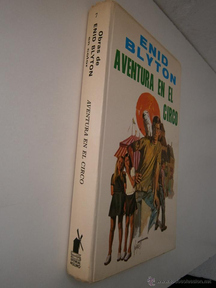 Tebeos: Aventura en el Circo Enid Blyton Molino 1972 - Foto 4 - 52430853