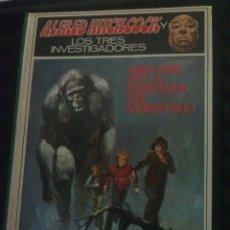 BDs: ALFRED HITCHCOCK Y LOS TRES INVESTIGADORES MISTERIO DE LA MONTANA DEL MONSTRUO N20 1974. Lote 53110018
