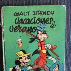 Tebeos: VACACIONES DE VERANO WALT DISNEY ,TAPA DURA , 1954 EDITORIAL MOLINO. Lote 54759597