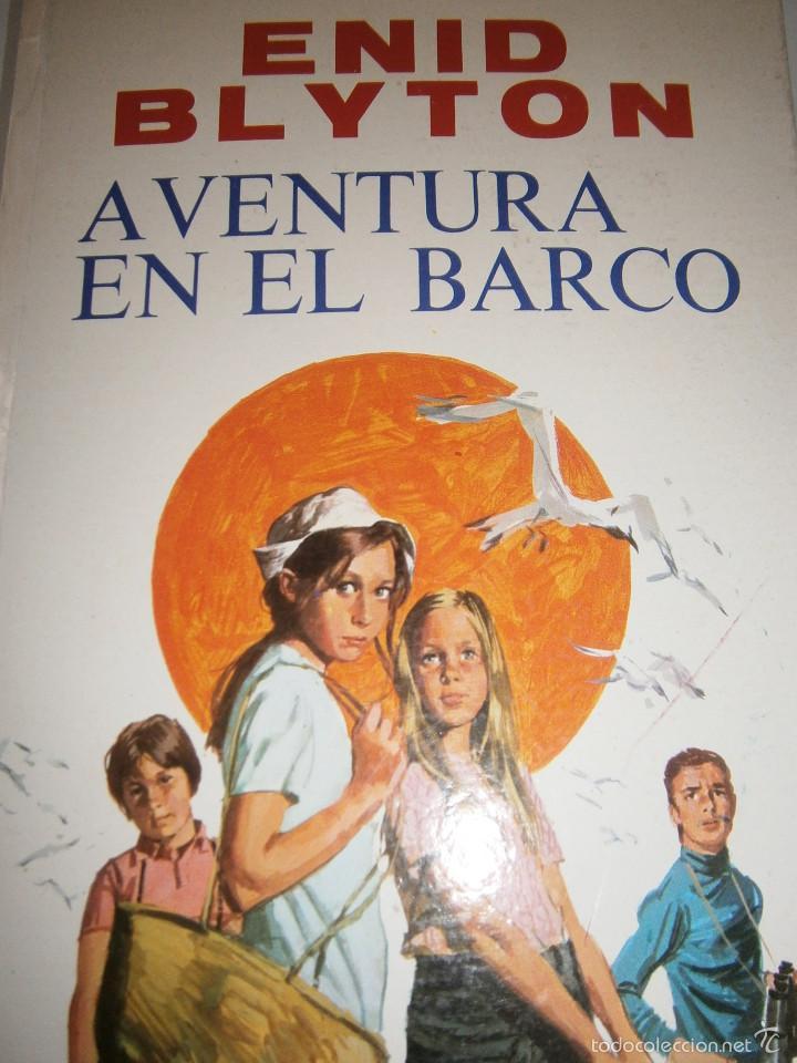 AVENTURA EN EL BARCO ENID BLYTON MOLINO 1972 (Tebeos y Comics - Molino)