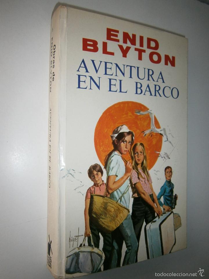 Tebeos: AVENTURA EN EL BARCO ENID BLYTON Molino 1972 - Foto 2 - 55381268