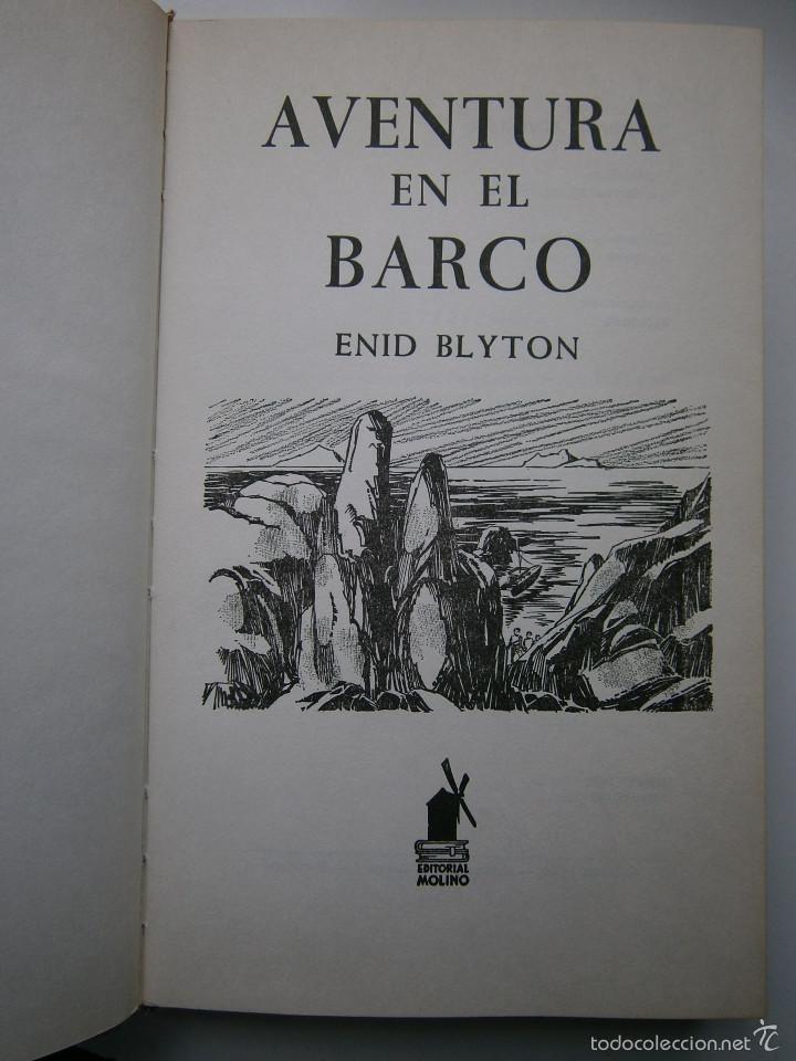 Tebeos: AVENTURA EN EL BARCO ENID BLYTON Molino 1972 - Foto 8 - 55381268